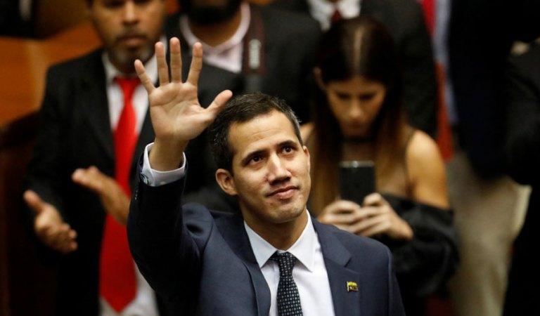 Juan Guaidó agradeció ayuda humanitaria para aliviar crisis en Venezuela