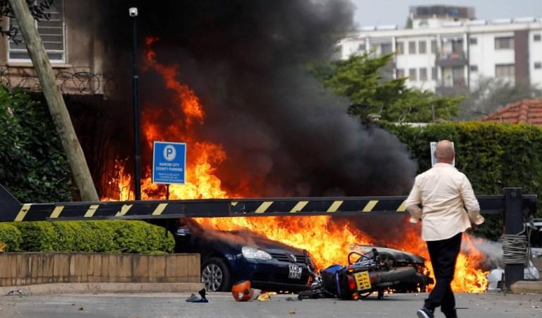 Atentado terrorista en un complejo hotelero de Nairobi