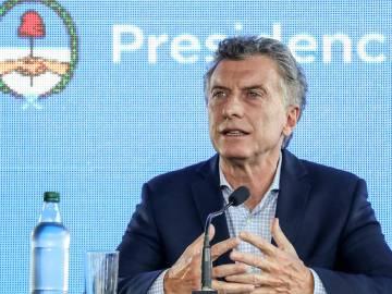 El presidente Mauricio Macri en marzo pasado, durante un acto público en la provincia de Jujuy/ FOTO: El País