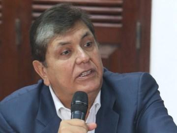 Alan García/ FOTO; El Comercio / www.globallookpress.com