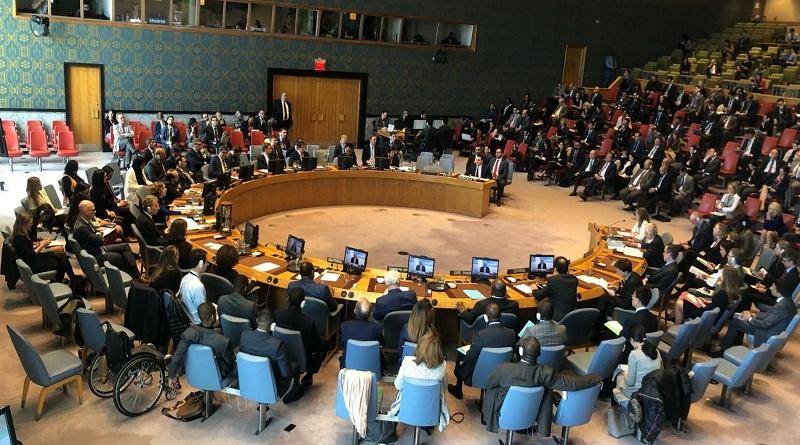 Samuel Moncada rechazó ayuda humanitaria en Consejo de Seguridad de la ONU