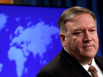 El secretario de Estado de EE.UU., Mike Pompeo,
