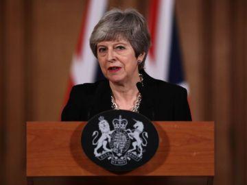 May no ha logrado que su partido respalde el acuerdo de divorcio