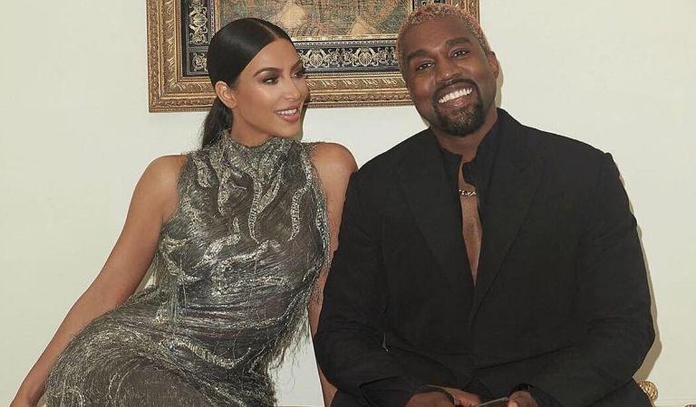 Kim Kardashian comparte la primera foto del rostro de su hijo Psalm West