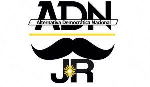 El emblema de la corriente Alternativa Democrática Nacional del ex alcalde Julián Ricalde lleva como símbolo un bigote.
