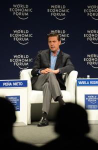 Enrique Peña Nieto en el Foro Económico Mundial.