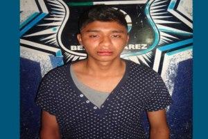 El presunto abusador, Bernabé Sánchez, de 20 años de edad, en imagen difundida por las autoridades.