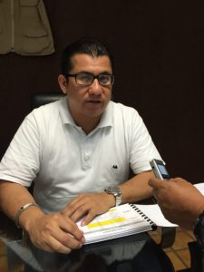 El Consejero Electoral y Presidente de la Comisión Jurídica del IEQROO, Jorge Armando Poot Pech.