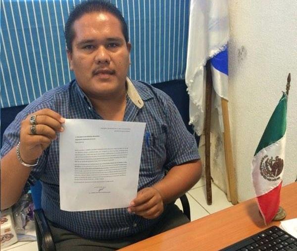 El regidor electo Gabriel González Soto.