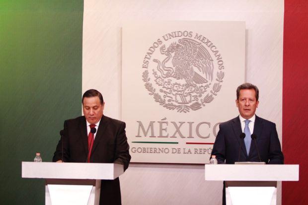 Rueda de prensa del gobierno federal para anunciar las medidas de inconstitucionalidad contra los gobiernos de Veracruz y Quintana Roo.