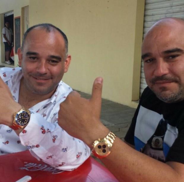 Alberto y Heriberto Millar, fundadores del periódico borgista Respuesta.