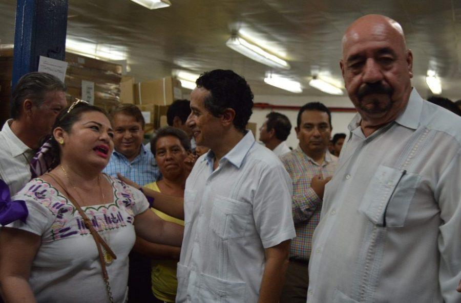 Carlos Joaquín en Chetumal.