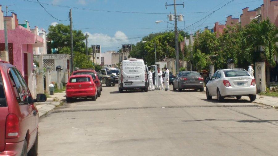 Asesinato en el Fraccionamiento Los Héroes de la Región 251 de Cancún.