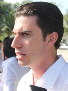 Remberto Estrada, alcalde de Cancún.