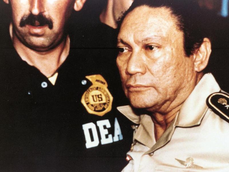 Presidente de Panamá: muerte de Noriega