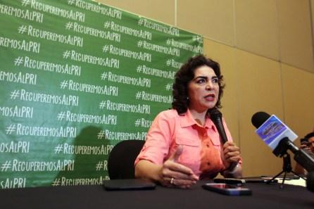 Ivonne Ortega promueve #RecuperemosAlPRI