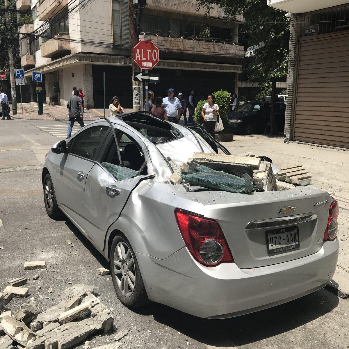 Fuerte temblor azotó a México — En video