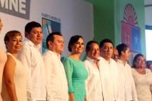 1er informe de gobierno de la alcaldesa Laura Fernández