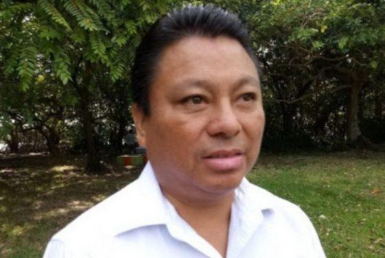Roberto Chim Interián, director de Obras Públicas.