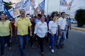 COMUNICADO DE CRISTINA TORRES EN CARAVANA CIUDADANA (8)