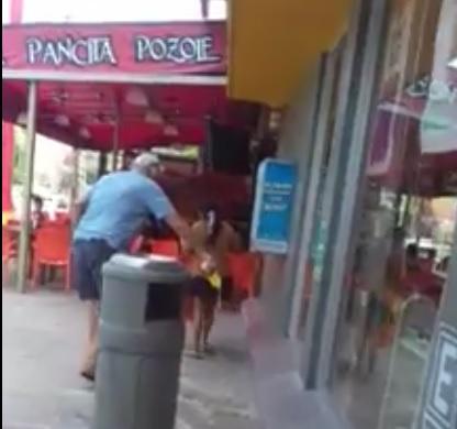 Cancún: Hombre arroja ácido en Oxxo para ahuyentar a niña indígena