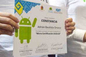 """Graduación de """"Micro-Certificación Android"""""""
