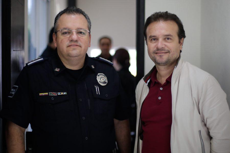 En reunión de Pedro Joaquín, con el secretario estatal de Seguridad Pública, Alberto Capella, destacan la disminución del 25 por ciento del índice delictivo