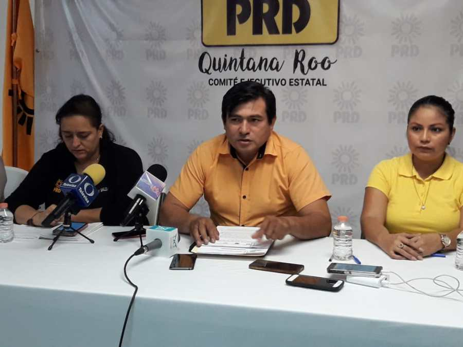 Directivos del PRD afirman incongruencia de regidores de BJ por desconocimiento del mando único