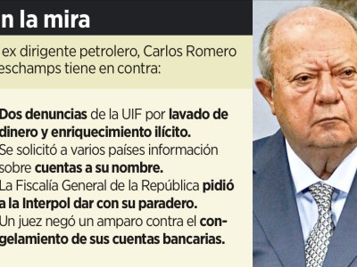 ROMERO DESCHAMPS HACE TRANSA ¡HASTA CON SISMO!: Acusan a ex líder petrolero de descontar casi 50 mdp a trabajadores que no se sabe dónde quedaron