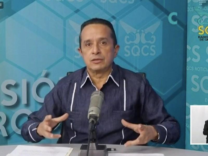 SEMÁFORO FEDERAL NO COINCIDE CON EL ESTATAL: Quintana Roo mantendrá en amarillo el Semáforo Epidemiológico la siguiente semana, confirma Carlos Joaquín