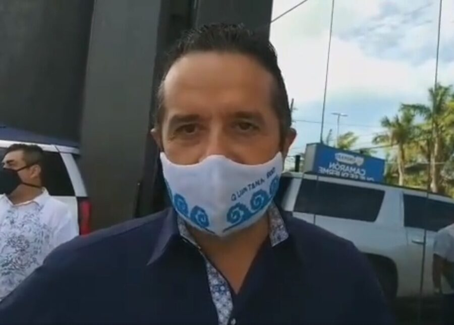 Asegura Carlos Joaquín que índices de violencia van a la baja en Quintana Roo