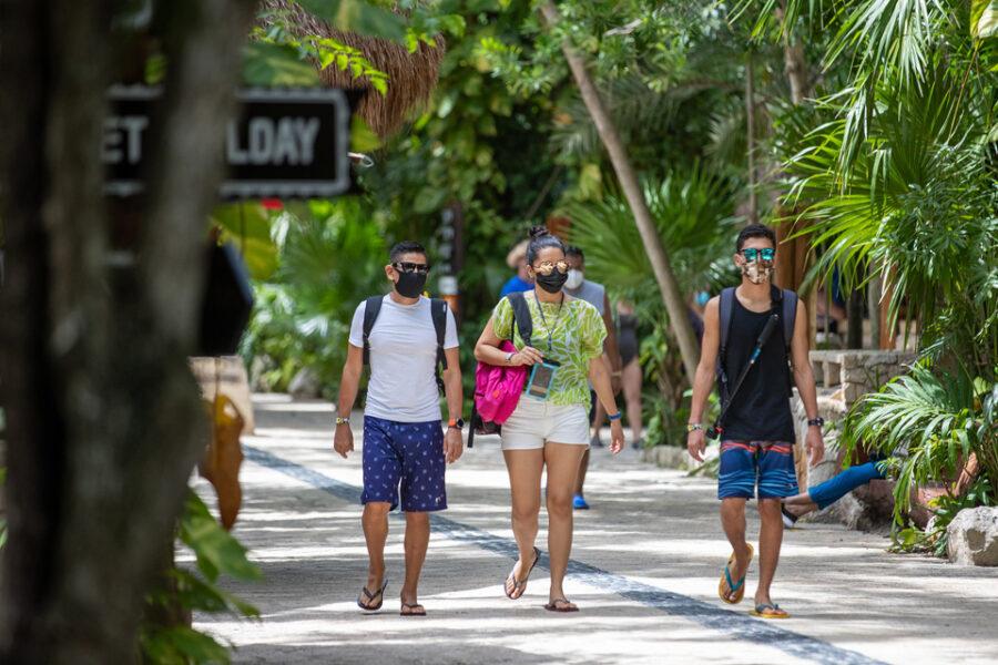 El Caribe Mexicano ha recibido a un millón y medio de turistas de pernocta desde la reactivación económica en junio