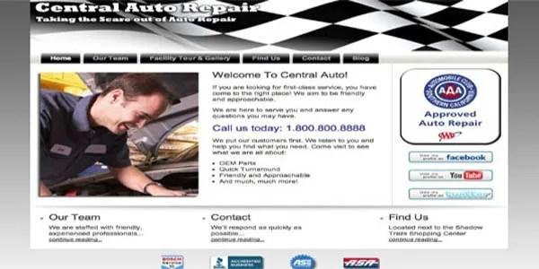 Custom wordpress website design example | Noticedwebsites