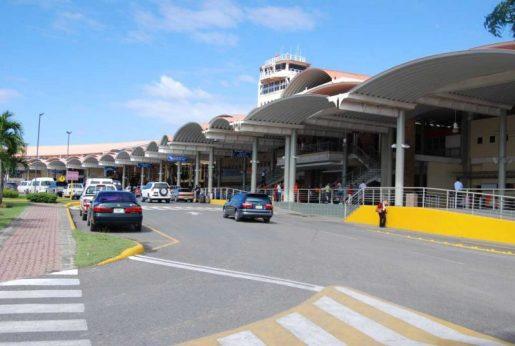 Cancelan vuelos Aeropuerto Cibao por tormenta invernal