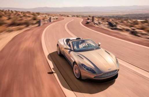Aston Martin DB11 Volante convertible sports GT