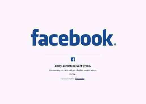 Facebook sufre una caída a nivel mundial