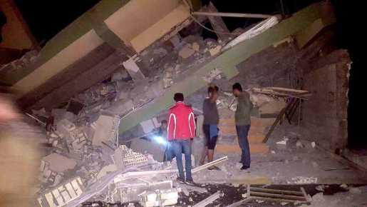 Más de 300 muertos por terremoto frontera Iran e Irak