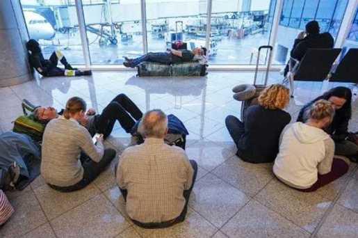 Apagón en aeropuerto de Atlanta causa caos