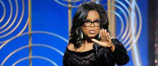 Oprah Winfrey proclama acabó el tiempo de hombres brutales