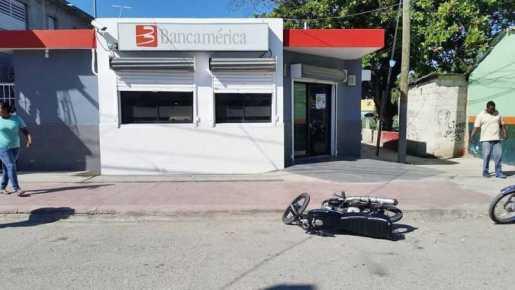 Muere hombre realizó asalto Bancamerica en Vicente Noble