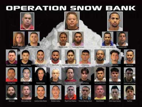 Acusan dominicanos de dirigir tres bandas de narcotráfico