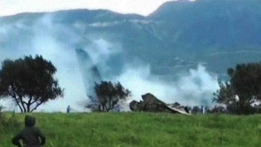 Al menos 100 muertos en siniestro de avión militar de Argelia
