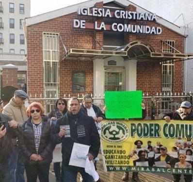 Dominicanos Bronx apoyan protesta hicieran contra reverendo Díaz