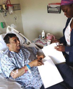 Reportero Telemicro en NY recupera salud