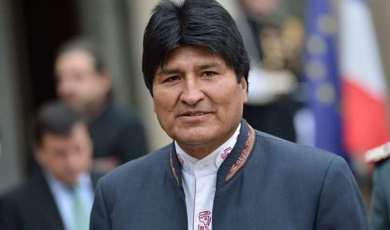 Bolivia no calificó al Mundial pero Evo se divierte en Rusia