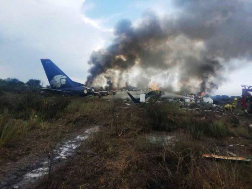 No hubo muertos accidente Aeroméxico