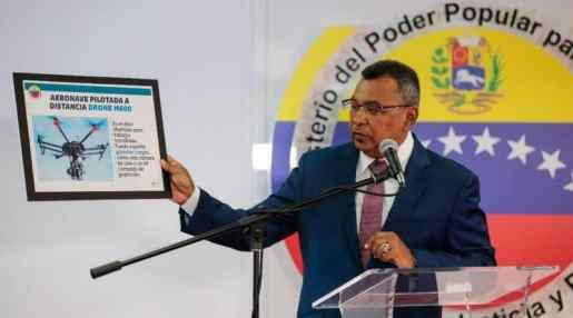 Venezuela: Seis detenidos por ataque drones
