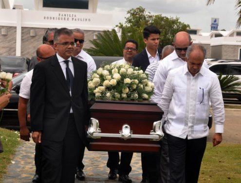 Sepultan los restos de Genaro Augusto Pérez Polanco (Yoryi)