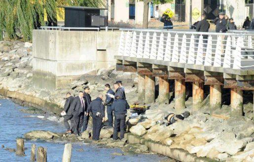 Hallan cadáveres descompuestos de dos mujeres en  río Hudson