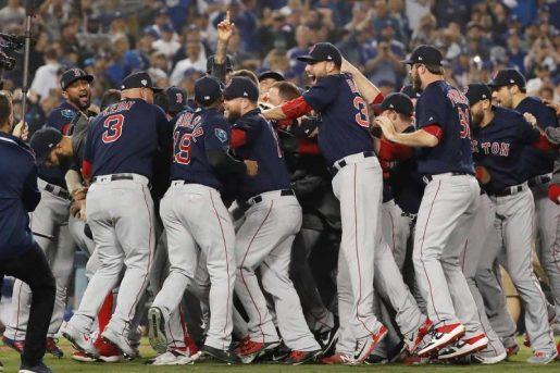Medias Rojas de Boston campeones serie mundial
